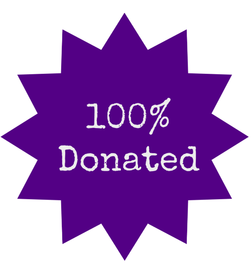 100 percent donation if you use email money transfer to donate to my sister's place